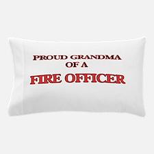 Proud Grandma of a Fire Officer Pillow Case