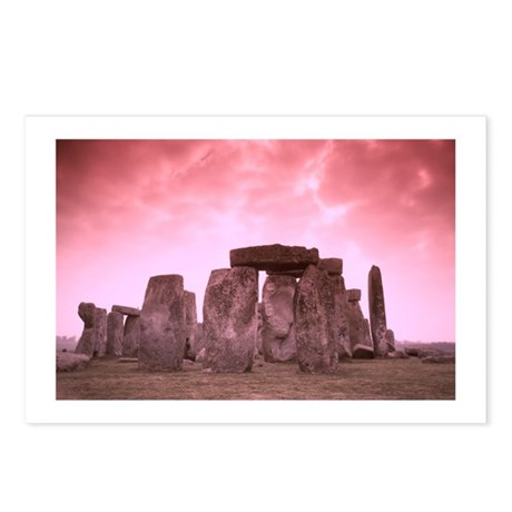 Stonehenge #8 Postcards (Package of 8)