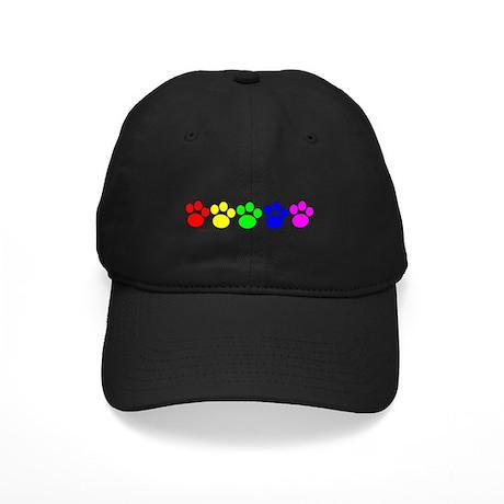 Rainbow Paws Black Cap