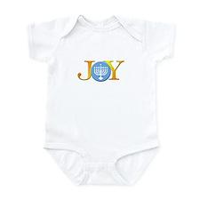 Joy Menorah Infant Bodysuit