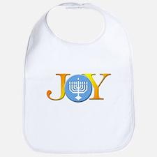 Joy Menorah Bib