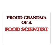 Proud Grandma of a Food S Postcards (Package of 8)
