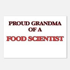Proud Grandma of a Food S Postcards (Package of 8)
