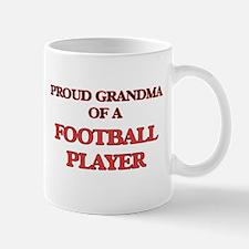 Proud Grandma of a Football Player Mugs