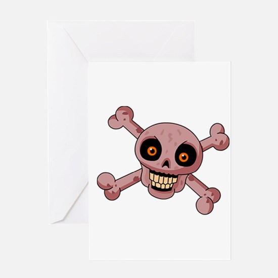 scull Greeting Cards