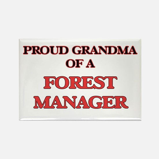 Proud Grandma of a Forest Manager Magnets