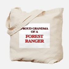 Proud Grandma of a Forest Ranger Tote Bag