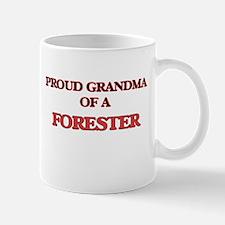 Proud Grandma of a Forester Mugs