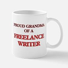 Proud Grandma of a Freelance Writer Mugs