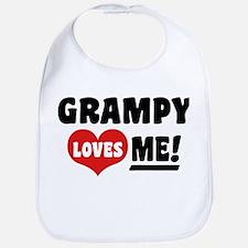 Grampy Loves Me Bib