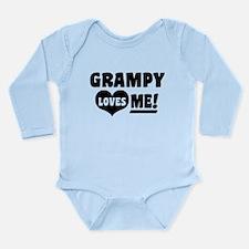 Grampy Loves Me Long Sleeve Infant Bodysuit