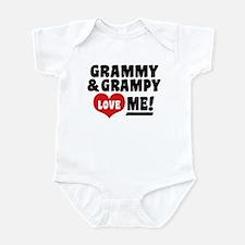 Grammy and Grampy Love Me Infant Bodysuit