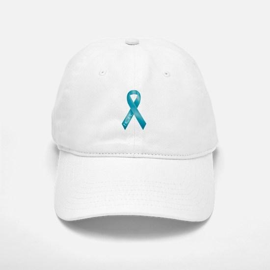 Teal Ribbon Hat