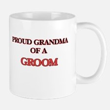 Proud Grandma of a Groom Mugs