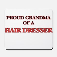 Proud Grandma of a Hair Dresser Mousepad