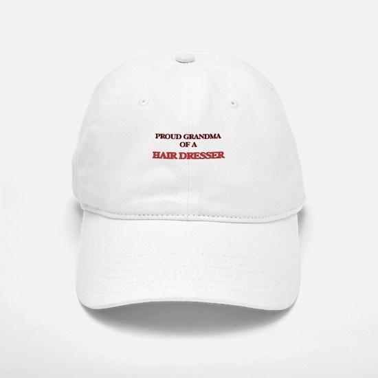 Proud Grandma of a Hair Dresser Baseball Baseball Cap