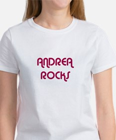 ANDREA ROCKS T-Shirt