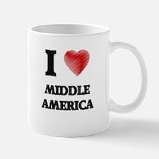 I Love Middle America Mugs