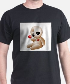 Voodoo Doll Cartoon in Love T-Shirt