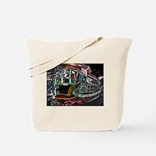 abs230 Night Tram Mandy Collins.jpg Tote Bag