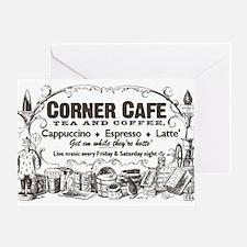 Vintage Coffee Retro Poster Greeting Card