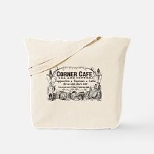 Vintage Coffee Retro Poster Tote Bag