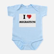 I Love Migration Body Suit
