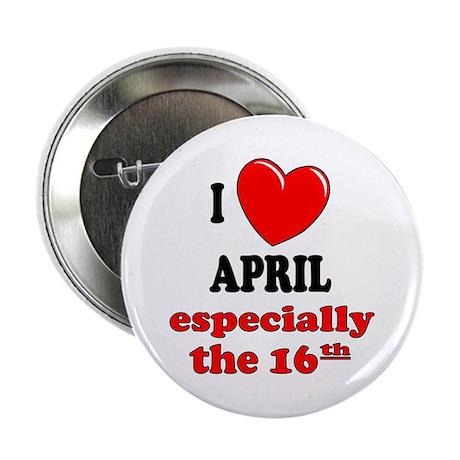 "April 16th 2.25"" Button (100 pack)"