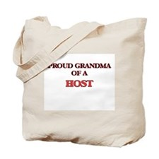 Proud Grandma of a Host Tote Bag
