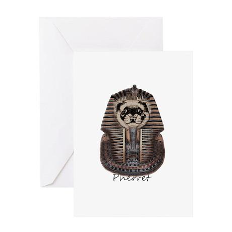 Pherret Greeting Card