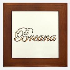 Unique Breana Framed Tile