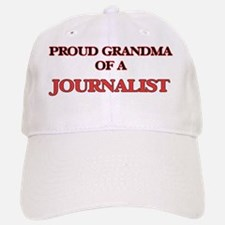 Proud Grandma of a Journalist Baseball Baseball Cap