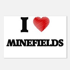 I Love Minefields Postcards (Package of 8)