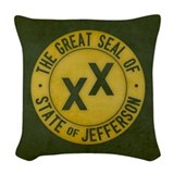 Bigfoot Woven Pillows