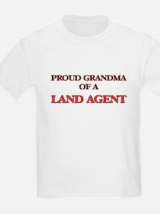 Proud Grandma of a Land Agent T-Shirt