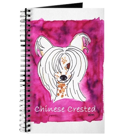 Chinese Crested Hairless Journal