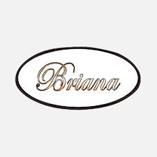 Gold Briana Patch