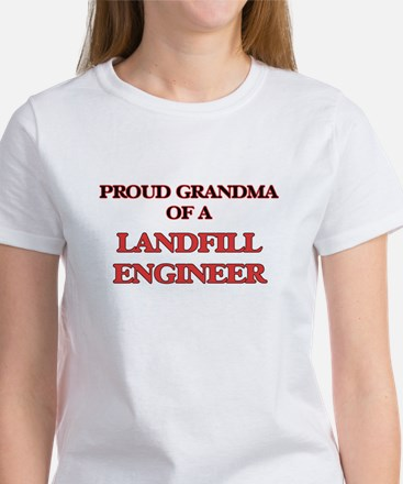 Proud Grandma of a Landfill Engineer T-Shirt