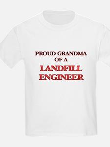 Proud Grandma of a Landfill Engineer T-Shirt