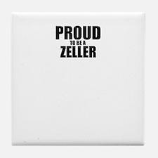 Proud to be ZELLER Tile Coaster
