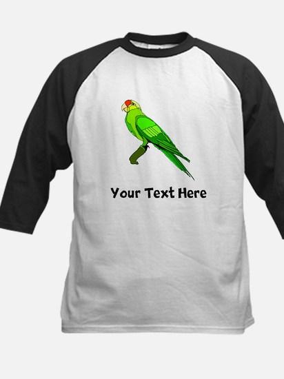 Green Conure Bird (Custom) Baseball Jersey