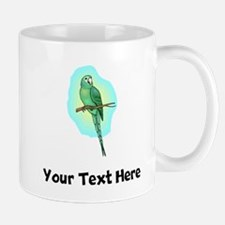 Green Conure Bird (Custom) Mugs
