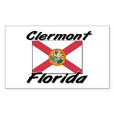 Clermont Florida Rectangle Decal