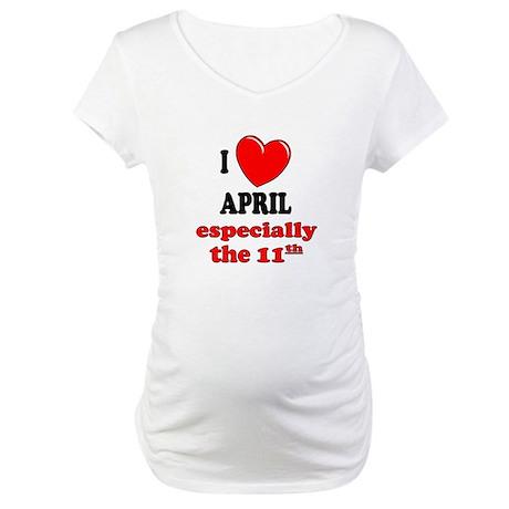 April 11th Maternity T-Shirt