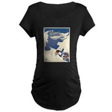 Vintage poster - Austria Maternity T-Shirt