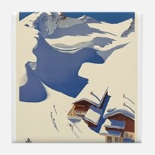 Vintage poster - Austria Tile Coaster