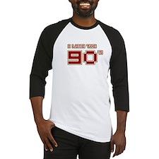 I Love the 90's Baseball Jersey
