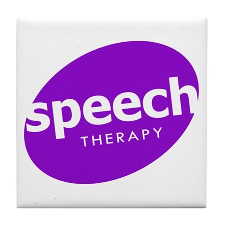 Speech Therapy Tile Coaster