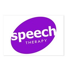 Speech Therapy Postcards (Package of 8)