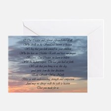 Creator, Bless Us Greeting Card